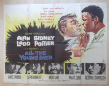 All the Young Men (1960) - British Quad Poster